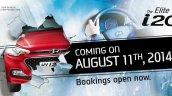 2015 Hyundai i20 Elite i20 India bookings