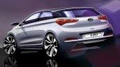 2015 Hyundai i20 Elite i20 Rendering Image rear