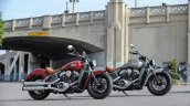 2015 Indian Scout Red and Silver