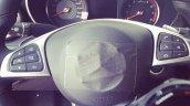 2015 Mercedes C 63 AMG steering wheel leak