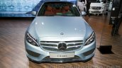 2015 Mercedes C Class front at the 2014 Moscow Motor show