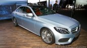 2015 Mercedes C Class front three quarter at the 2014 Moscow Motor show