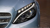 2015 Mercedes C Class headlamp at the 2014 Moscow Motor show