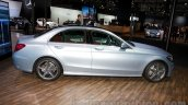 2015 Mercedes C Class side at the 2014 Moscow Motor show
