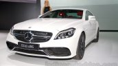 2015 Mercedes CLS 63 AMG front three quarter at the 2014 Moscow Motor Show