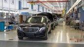 2015 Mercedes S-Class Guard Sindelfingen rollout