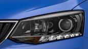 2015 Skoda Fabia teaser headlamp