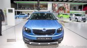 2015 Skoda Octavia Scout front at the 2014 Moscow Motor Show