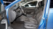 2015 Skoda Octavia Scout front seats at the 2014 Moscow Motor Show