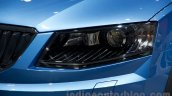 2015 Skoda Octavia Scout headlights at the 2014 Moscow Motor Show