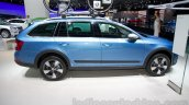 2015 Skoda Octavia Scout profile at the 2014 Moscow Motor Show