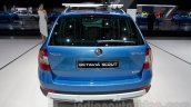 2015 Skoda Octavia Scout rear at the 2014 Moscow Motor Show