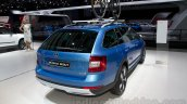 2015 Skoda Octavia Scout rear right three quarter at the 2014 Moscow Motor Show