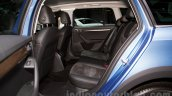 2015 Skoda Octavia Scout seats at the 2014 Moscow Motor Show