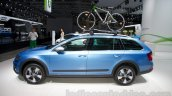 2015 Skoda Octavia Scout side at the 2014 Moscow Motor Show