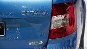 2015 Skoda Octavia Scout taillight at the 2014 Moscow Motor Show