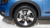 2015 Skoda Octavia Scout wheel at the 2014 Moscow Motor Show