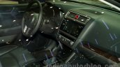 2015 Subaru Outback Prototype dashboard at the 2014 Moscow Motor Show