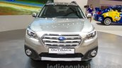 2015 Subaru Outback Prototype front at the 2014 Moscow Motor Show