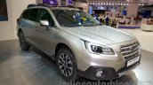 2015 Subaru Outback Prototype front right three quarter  at the 2014 Moscow Motor Show
