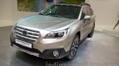 2015 Subaru Outback Prototype front three quarter at the 2014 Moscow Motor Show