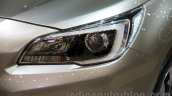 2015 Subaru Outback Prototype headlamp at the 2014 Moscow Motor Show
