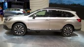 2015 Subaru Outback Prototype profile at the 2014 Moscow Motor Show
