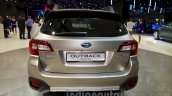 2015 Subaru Outback Prototype rear at the 2014 Moscow Motor Show