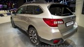 2015 Subaru Outback Prototype rear three quarter at the 2014 Moscow Motor Show
