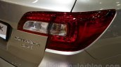 2015 Subaru Outback Prototype taillight at the 2014 Moscow Motor Show