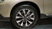 2015 Subaru Outback Prototype wheel at the 2014 Moscow Motor Show