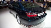 2015 Toyota Camry rear left three quarter at the 2014 Moscow Motor Show