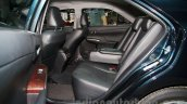 2015 Toyota Camry rear seats at the 2014 Moscow Motor Show
