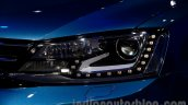 2015 VW Jetta facelift at the 2014 Moscow Motor headlight