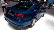 2015 VW Jetta facelift at the 2014 Moscow Motor rear quarter