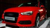 Audi A3 Sedan launch image front quarter