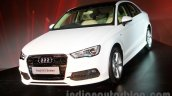 Audi A3 Sedan launch image front three quarter