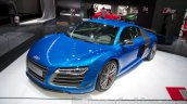 Audi R8 LMX front three quarter at the 2014 Moscow Motor Show