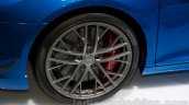 Audi R8 LMX wheel at the 2014 Moscow Motor Show
