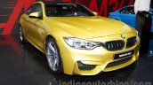 BMW M4 Coupe at the 2014 Moscow Motor Show front quarter