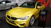 BMW M4 Coupe at the 2014 Moscow Motor Show front quarters