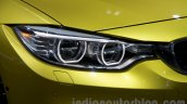 BMW M4 Coupe at the 2014 Moscow Motor Show headlight