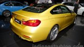 BMW M4 Coupe at the 2014 Moscow Motor Show rear quarter