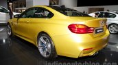 BMW M4 Coupe at the 2014 Moscow Motor Show rear quarters