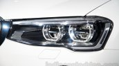 BMW X4 at the 2014 Moscow Motor Show headlight