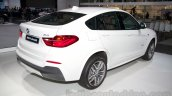 BMW X4 at the 2014 Moscow Motor Show rear quarters