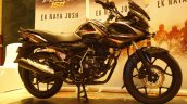 Bajaj Discover 150 F Launch front three quarter black