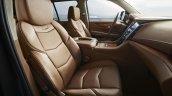 Cadillac Escalade Platinum press image Nappa leather seats beige