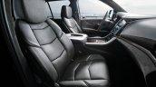 Cadillac Escalade Platinum press image Nappa leather seats