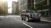 Cadillac Escalade Platinum press image front